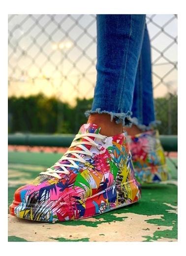 Chekich Ch265 Rengarenk Erkek Ayakkabı Renkli